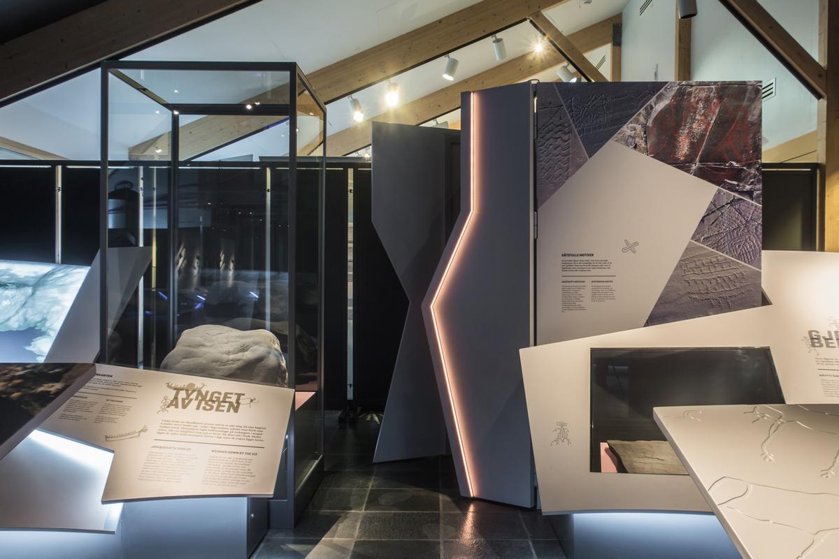 Copenhagen-based design studio Kvorning Design and Communication have created the installation / Kvorning Design & Communication