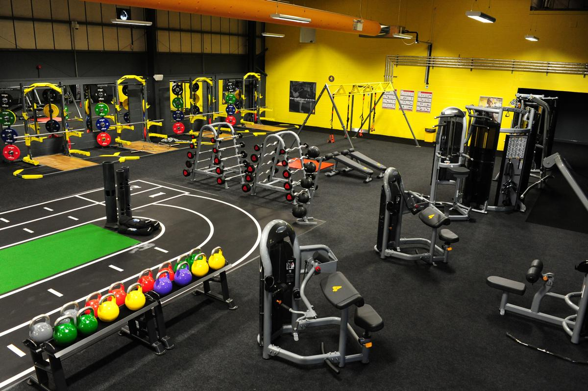 The Chesterfield club features more than 400 pieces of equipment