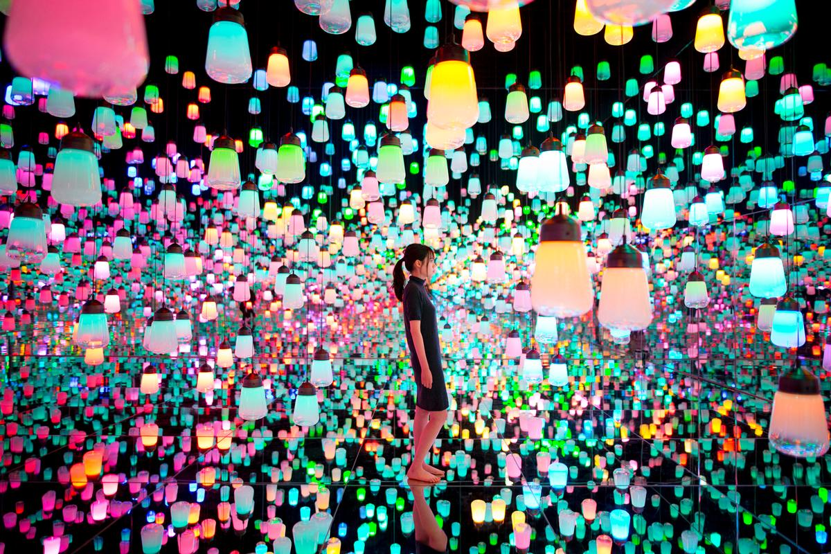 The museum will include a Forest of Lamps / teamLab Borderless