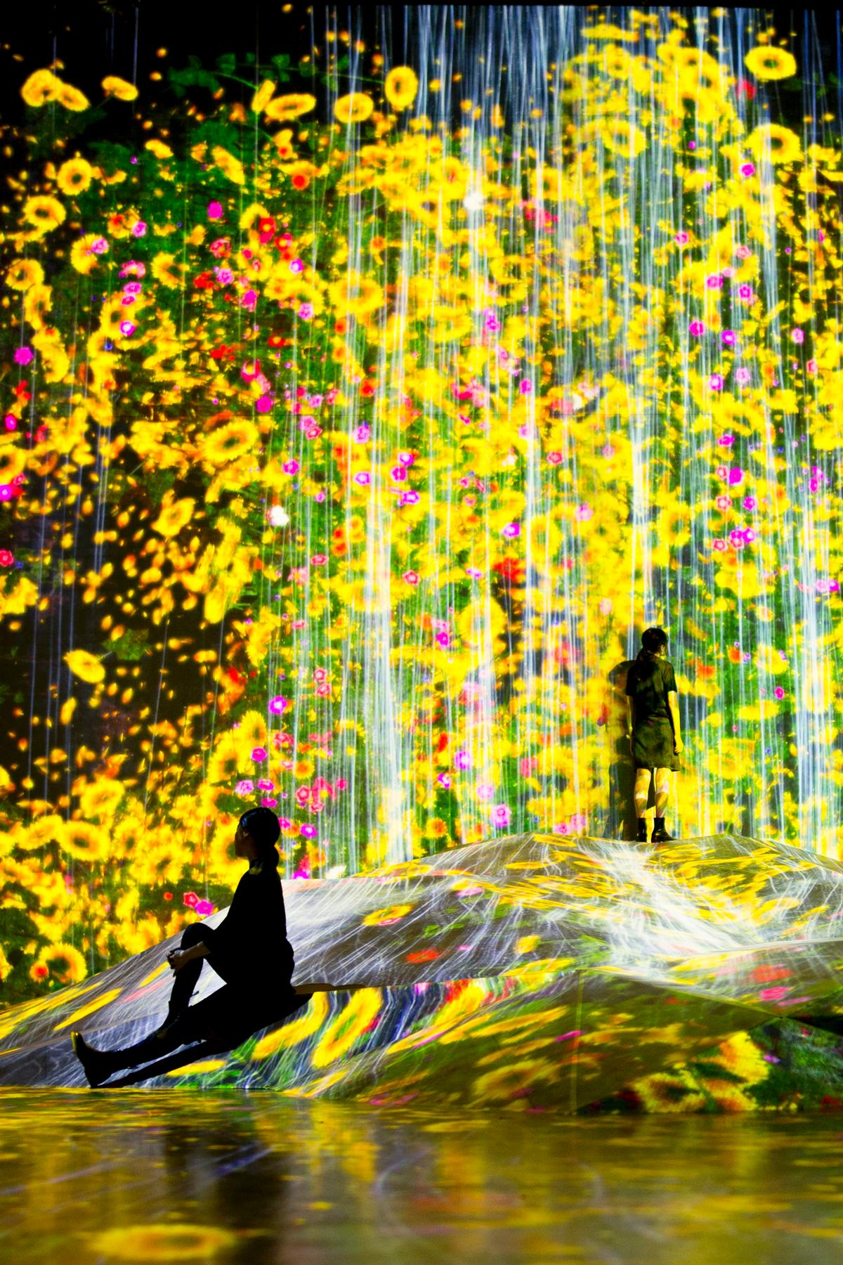 The attraction has been designed to boost Tokyo's cultural offering ahead of the 2020 Olympics / teamLab Borderless