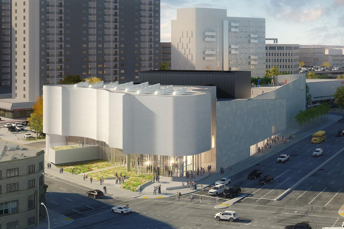 Construction begins on Michael Maltzan Architecture's vast Inuit Art Centre