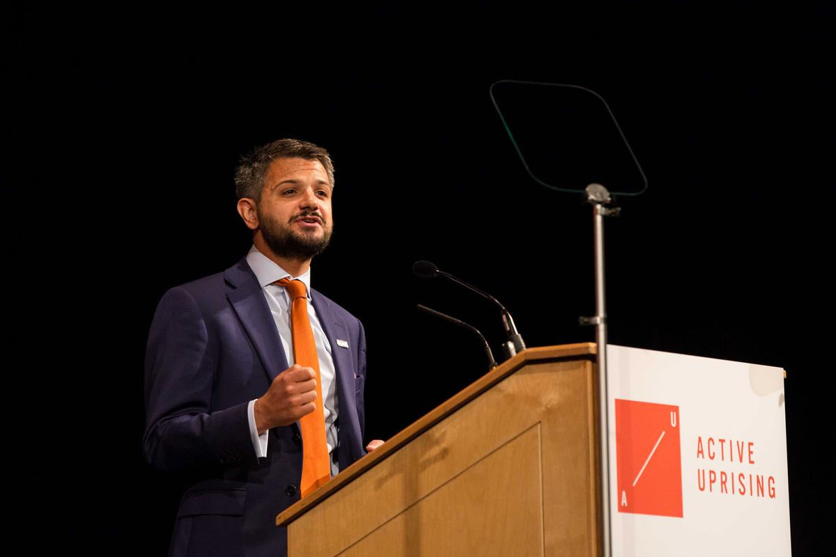 According to Steven Ward, ukactive CEO, the event has attracted 'unparalleled levels' of interest from outside the industry / ukactive