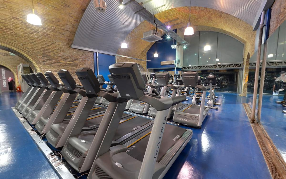 All 10 Soho Gyms are located in London / Soho Gyms