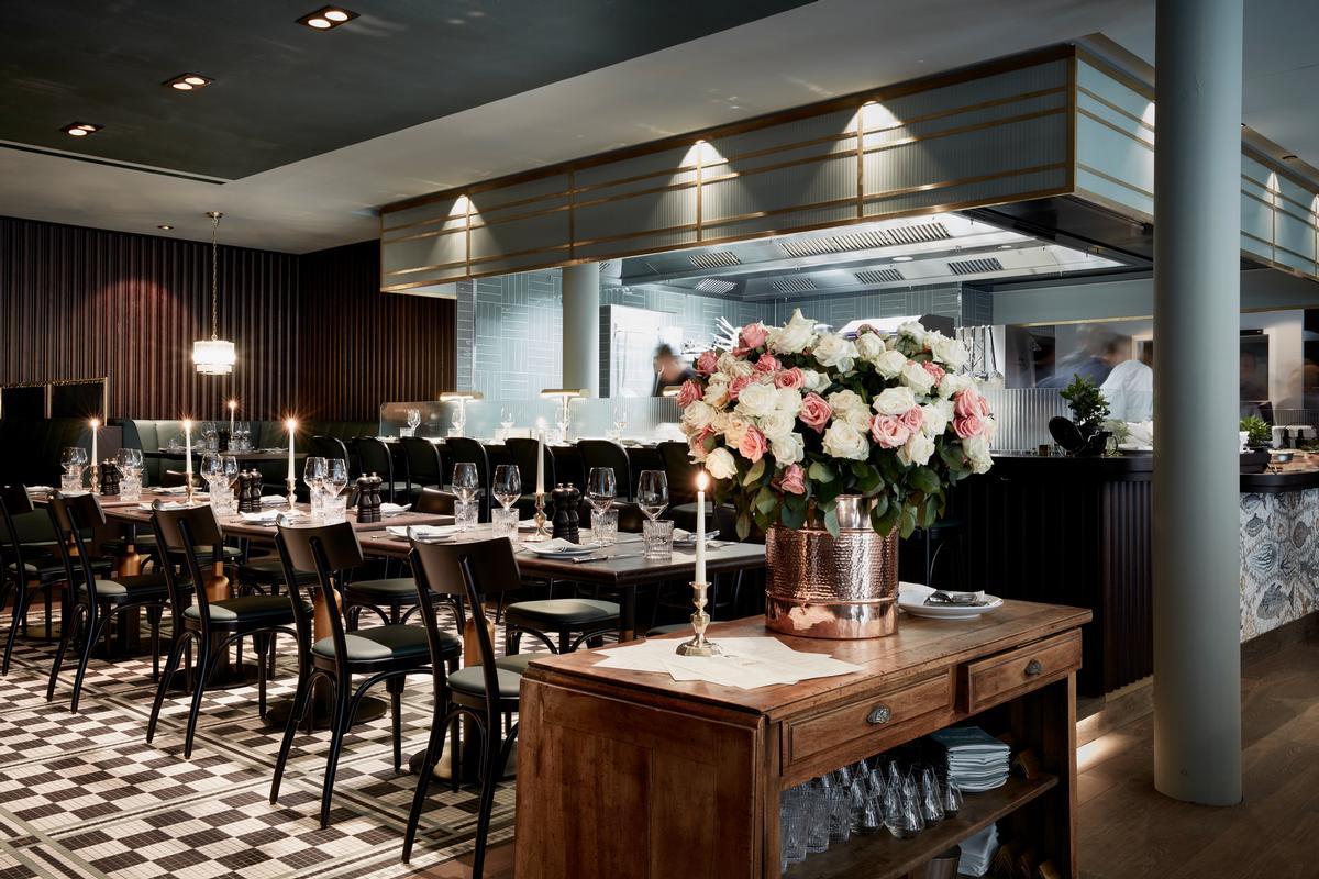 Joyce Wang has designed the hotel's restaurant / Design Hotels