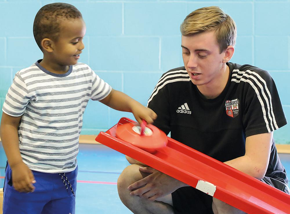 The Short Breaks programme provides sports and games sessions for kids with disabilities