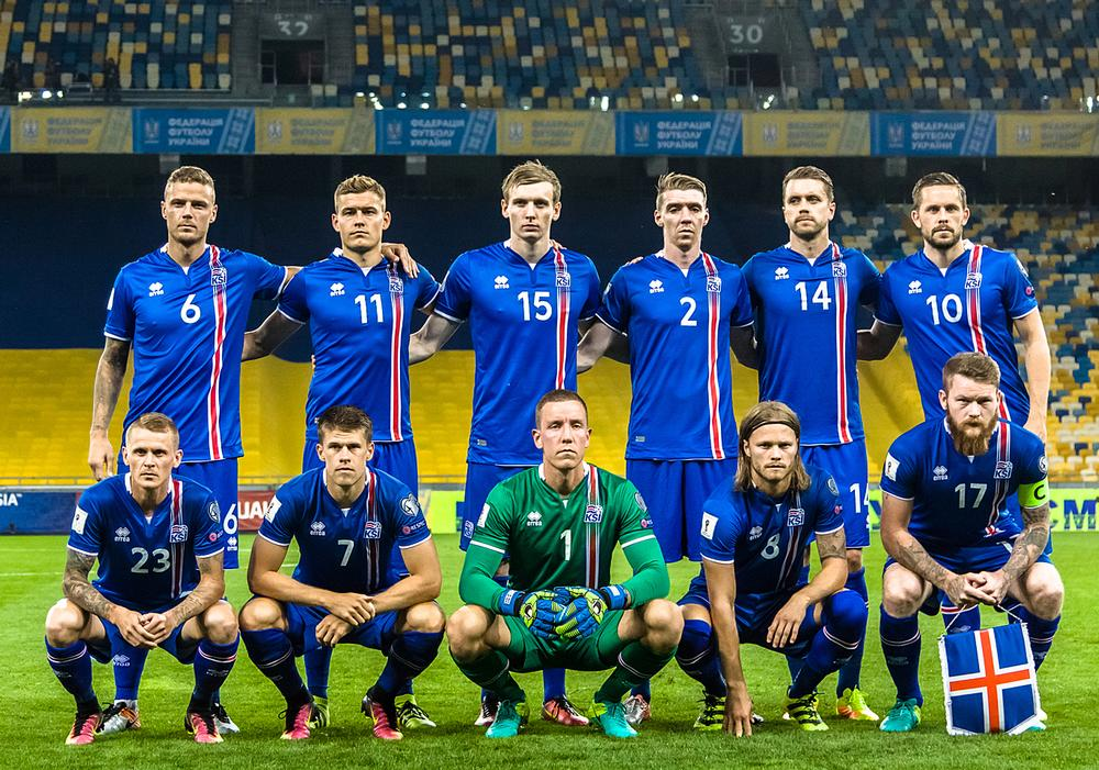 The Iceland national football team played up through the ranks together / guiness world records