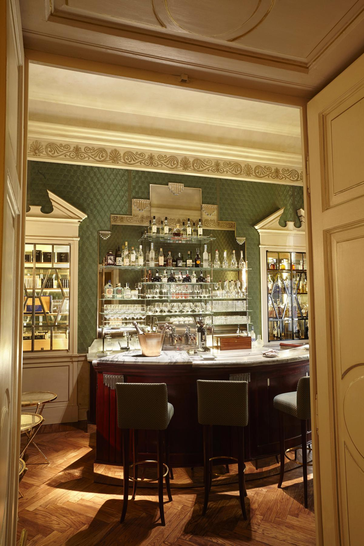 The site features a restaurant, café, patisserie, chocolaterie, wine bar and private lounge / Andrea Passuello
