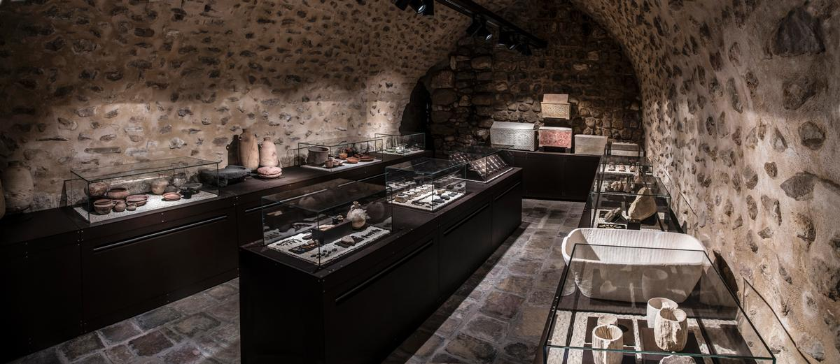 Jerusalem's Terra Sancta Museum will open the doors of its brand new archaeology wing to the public 27 June / Neve Gasparo