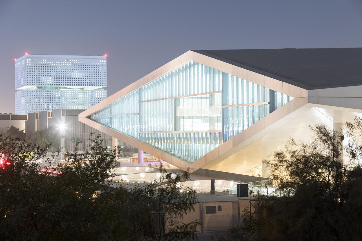 Office for Metropolitan Architecture - Qatar National Library, Doha, Qatar / Iwan Baan