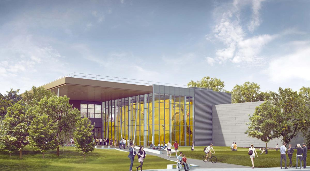 The Hub will include a 16,684sq ft health club – one of the largest gyms in UK higher education