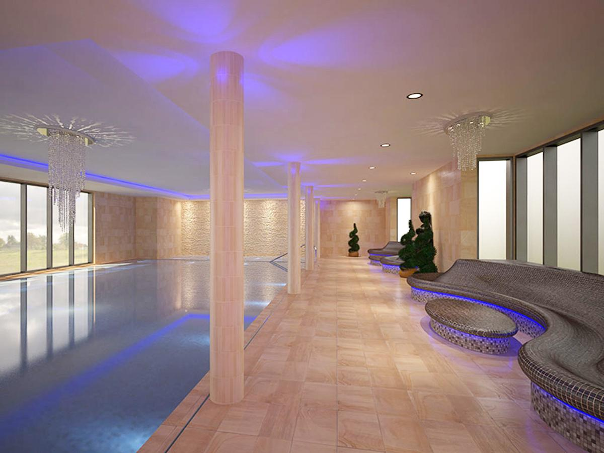 The 28,000sq ft (2,601sq m) health club included the construction of a new wing for beauty, spa and changing facilities / The Reynolds Group