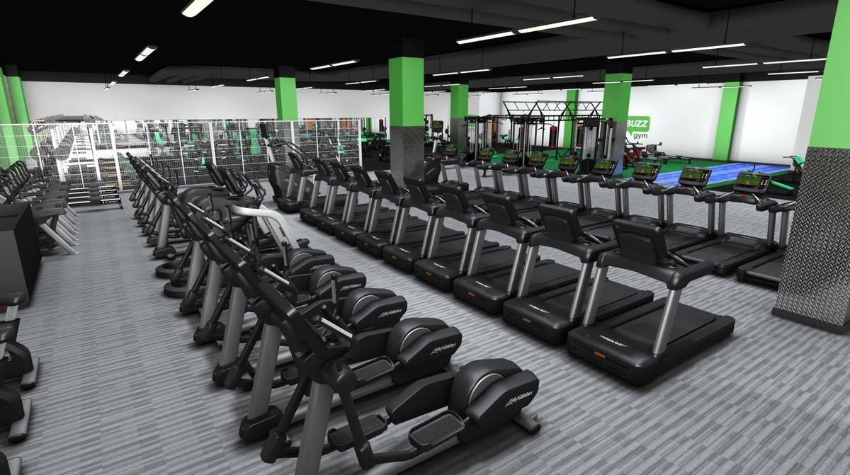 The soon-to-open Buzz Gym Oxford will be the first facility to launch with Life Fitness kit