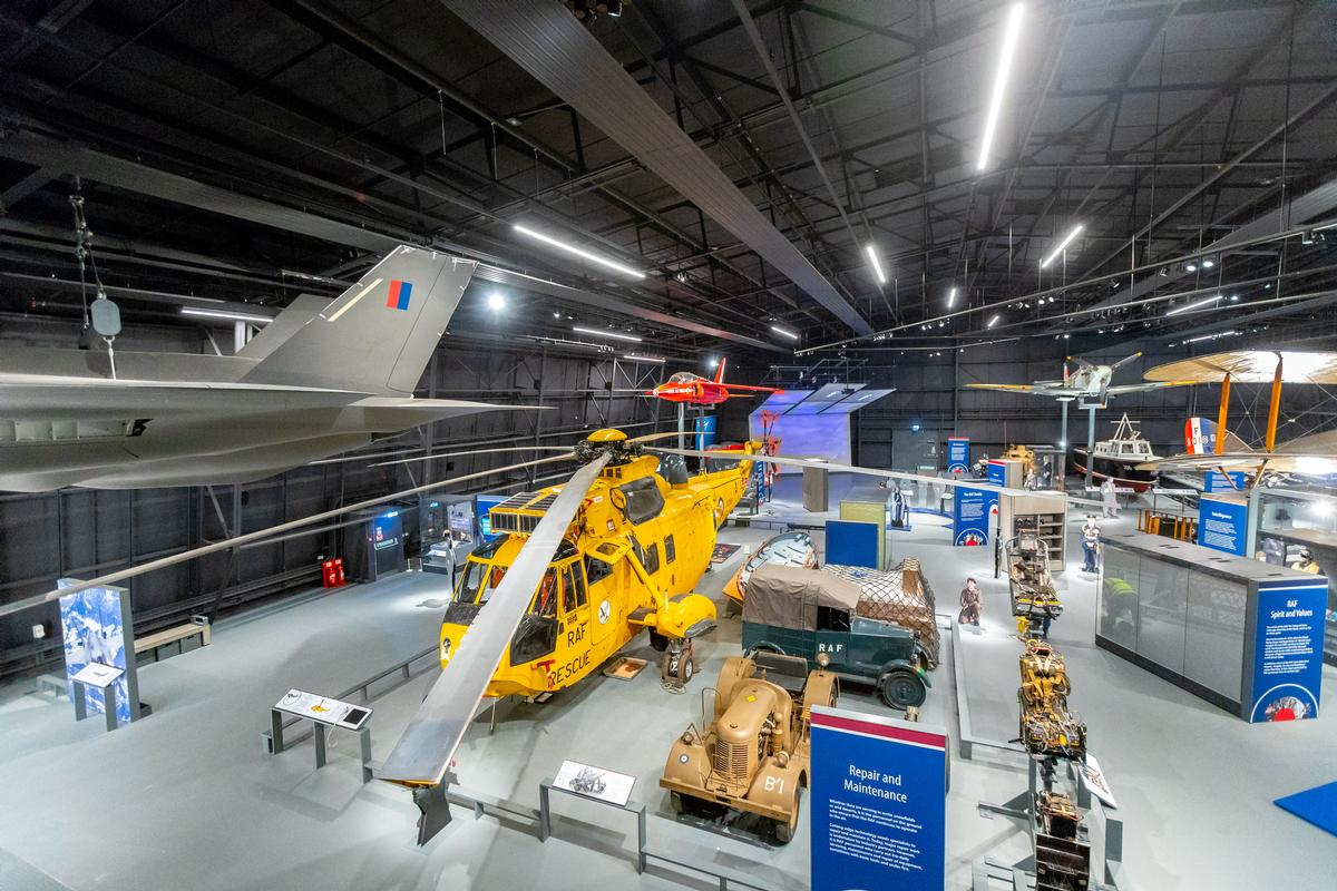 Three new exhibitions have been created for the museum, offering interactive experiences drawing on the lives of the RAF's people and their families