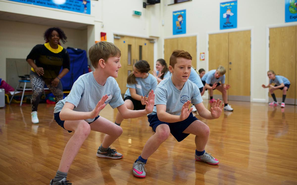 "Born to Move  is designed to ""support physical literacy, confidence and self-esteem"""