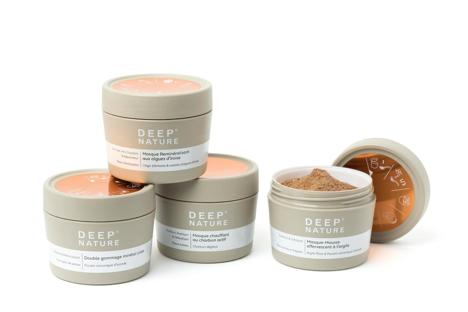Deep Nature developed its new skincare range after receiving a number of customer requests