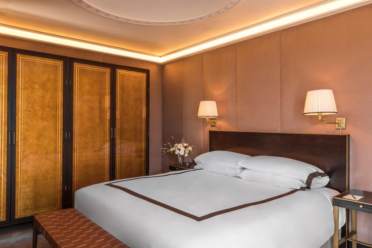Sunset Tower's 81 bedrooms and suites have been decorated in a style described as 'chic and elegant'