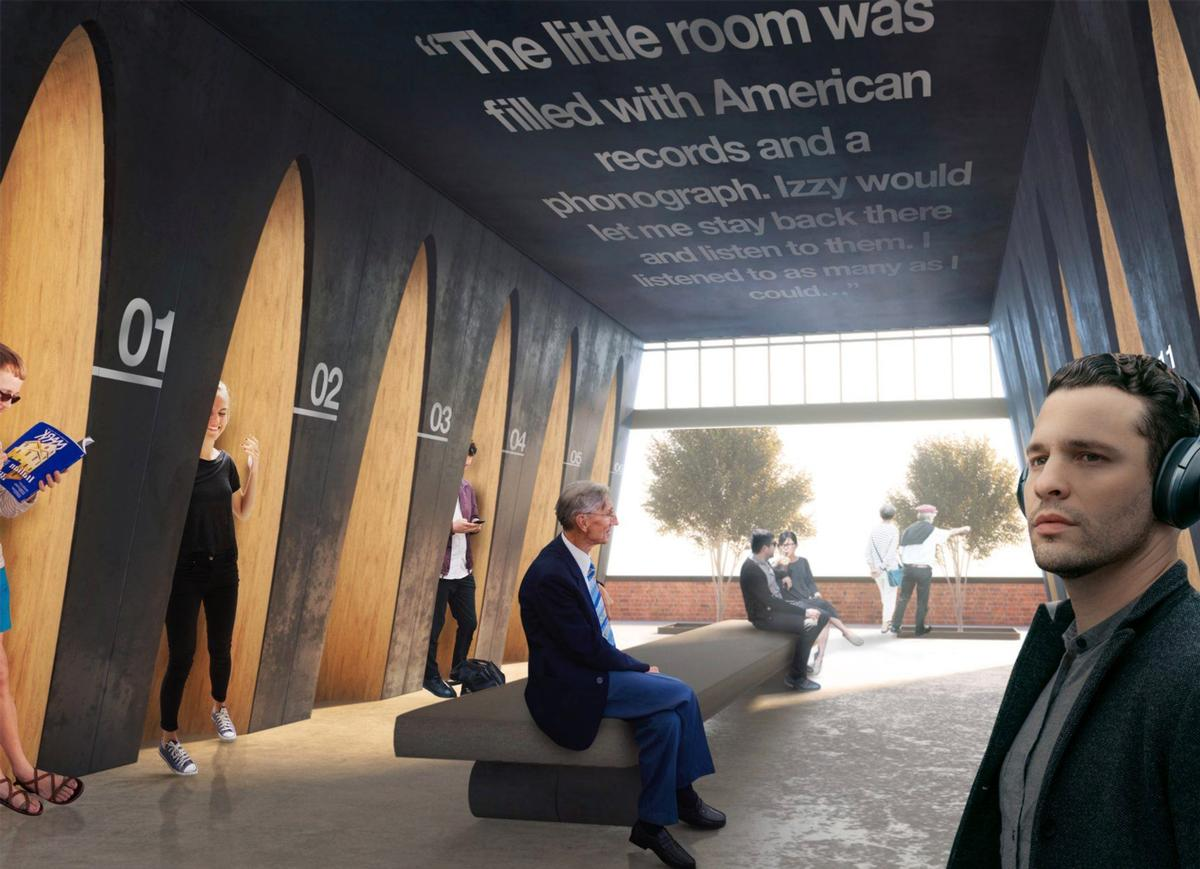 The new attraction is set to house more than 100,000 Bob Dylan artefacts / Olson Kundig