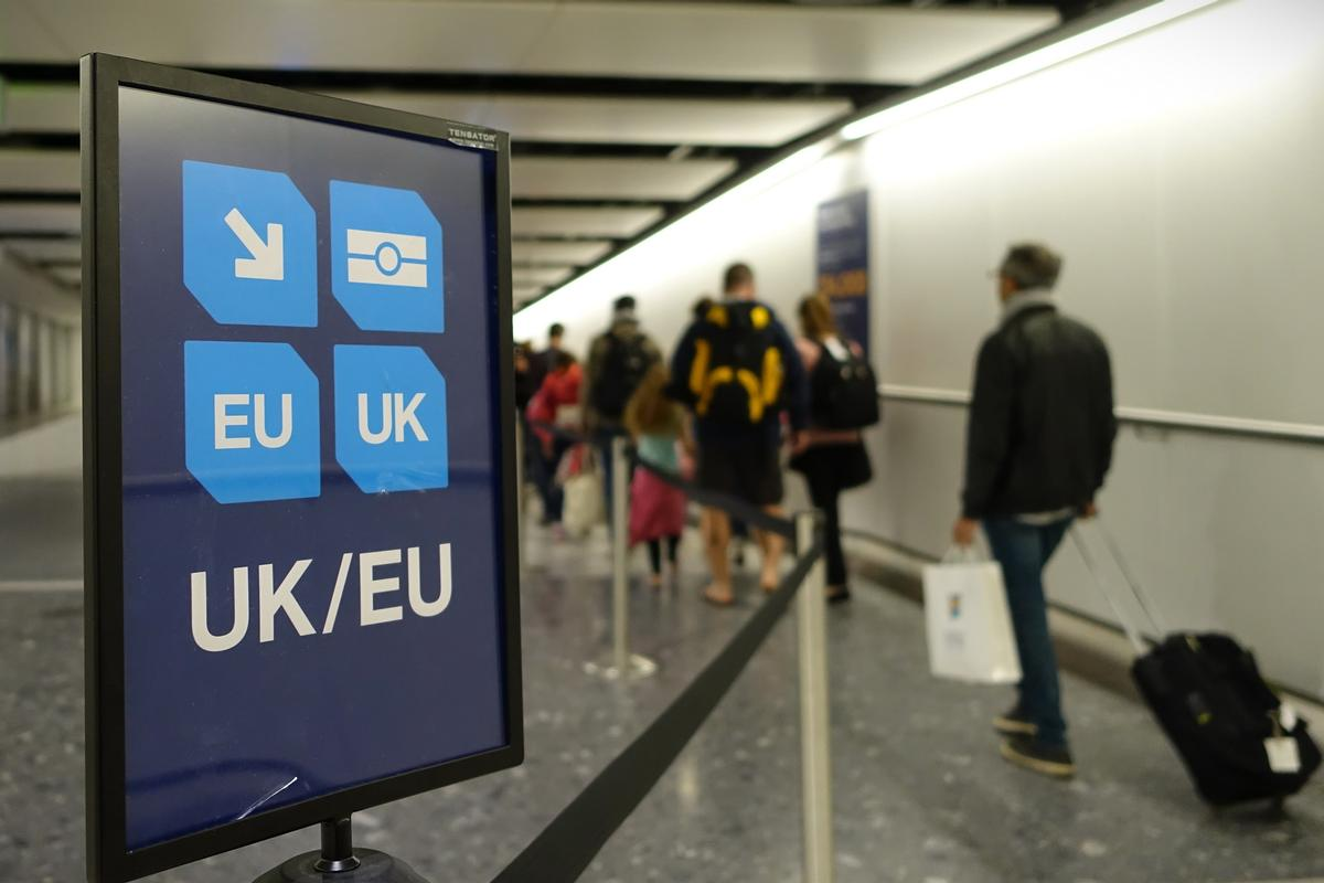 The white paper addressed some of the tourism industry's worries over barriers being created for people visiting the UK from EU / Shutterstock
