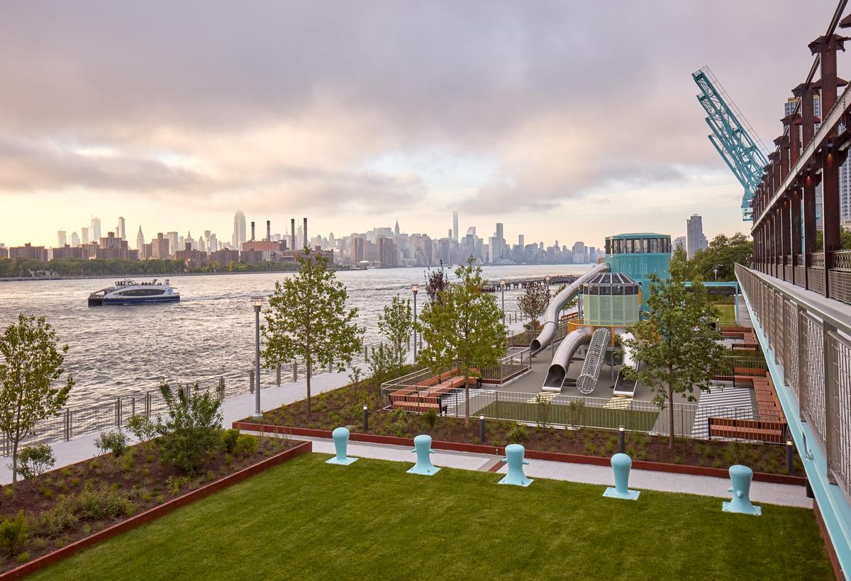 Two Trees, James Corner Field Operations and Shop Architects team up on Williamsburg waterfront park