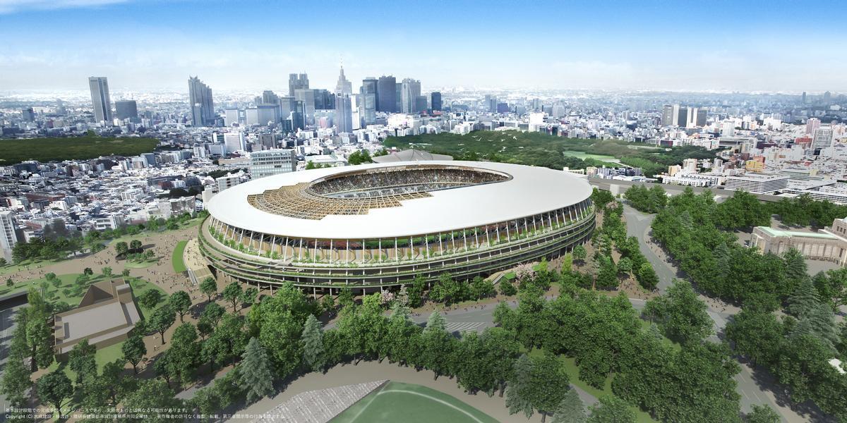 Kuma has designed the new Tokyo Olympic stadium