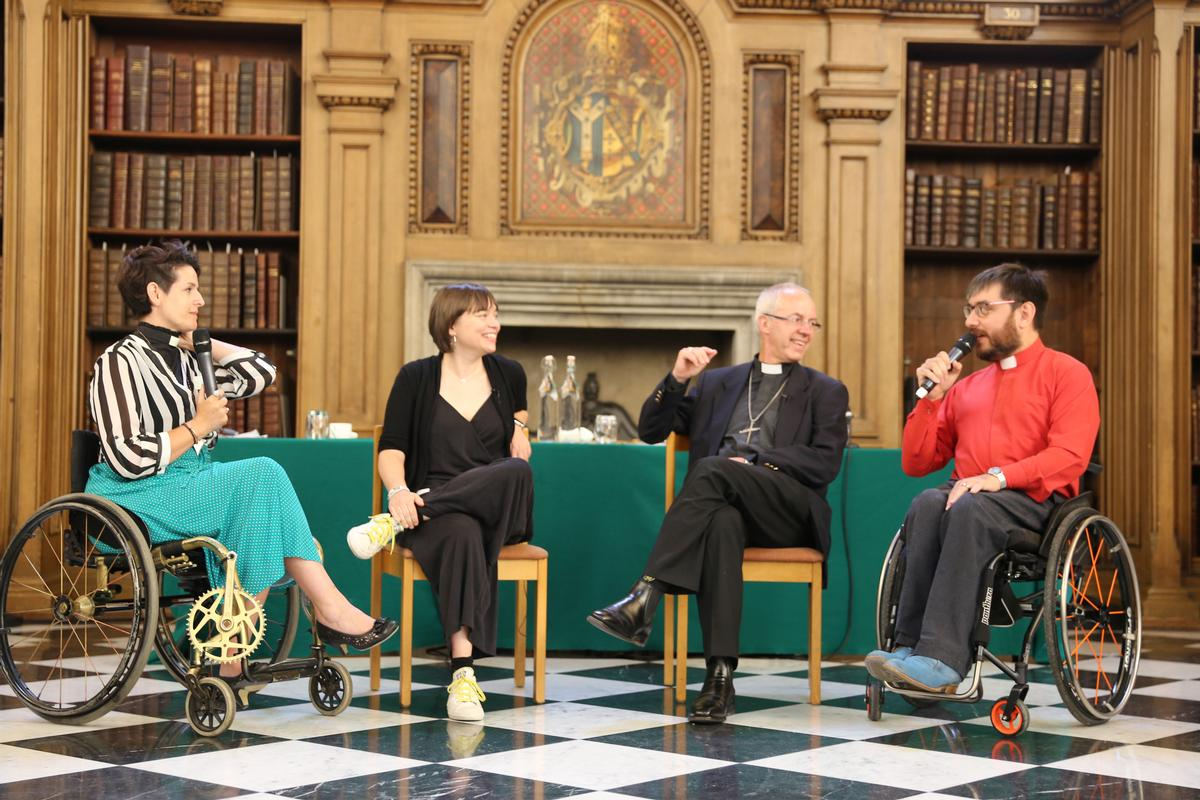 Welby spoke at a disability conference at Lambeth Palace – his official London residence / Lambeth Palace