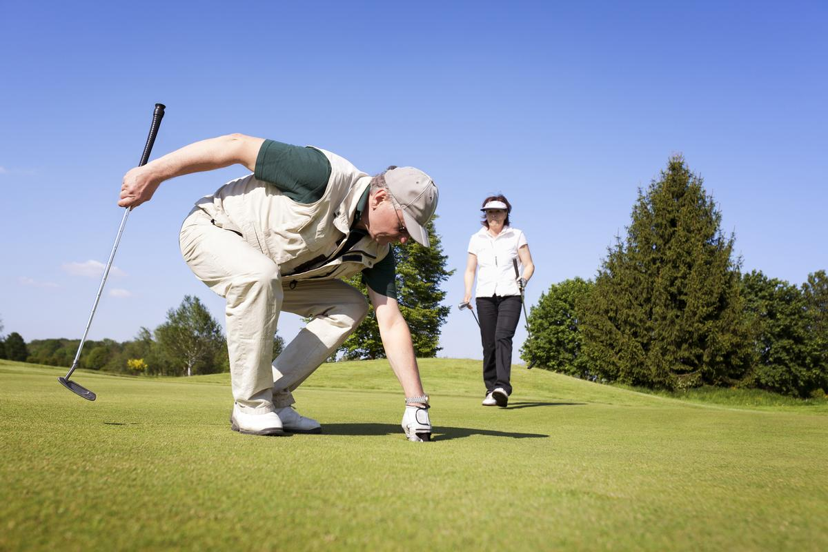 Participants in the six-week golf programme trebled their amount of vigorous exercise per week