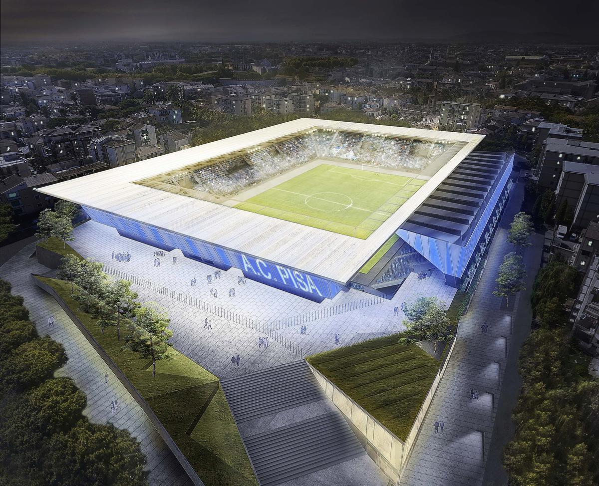 The current main stand to the west will be renovated while the east, north and south stands will be completely rebuilt