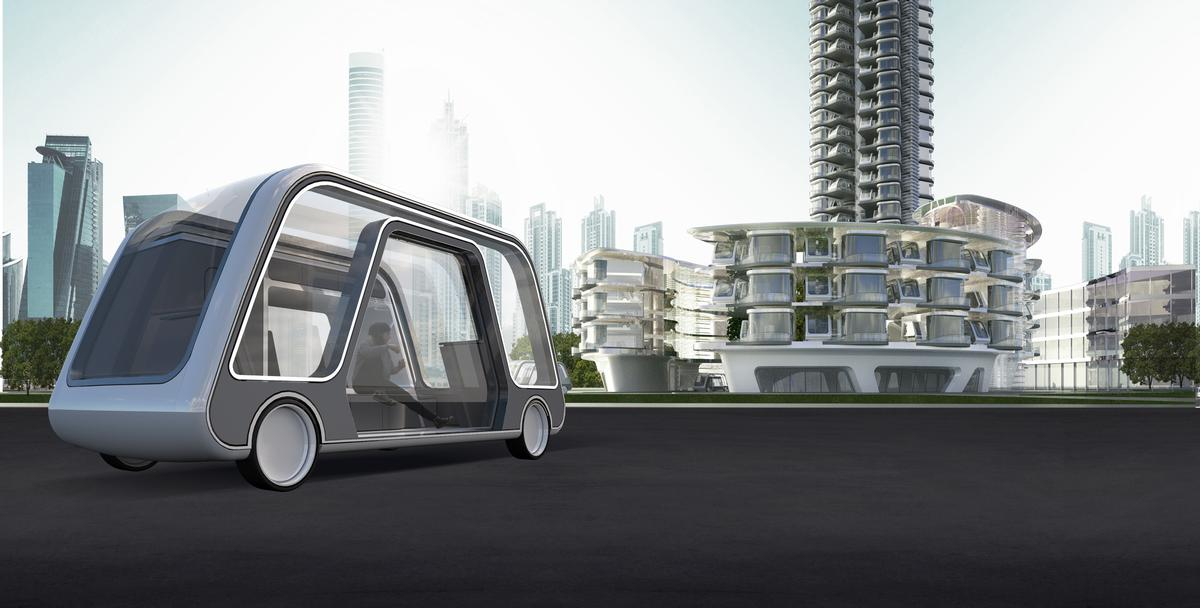 "The Autonomous Travel Suite ""integrates transportation and hospitality"