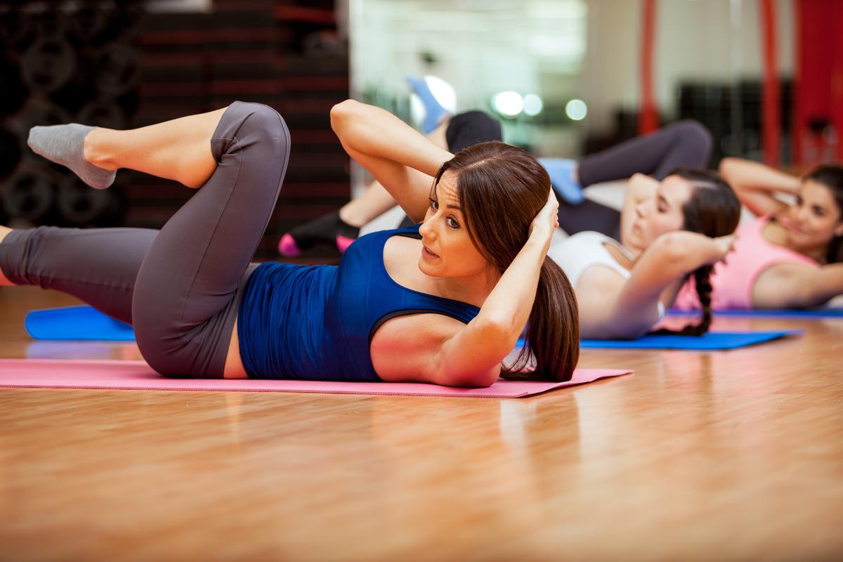 Spending on gyms and fitness increased by 2 per cent