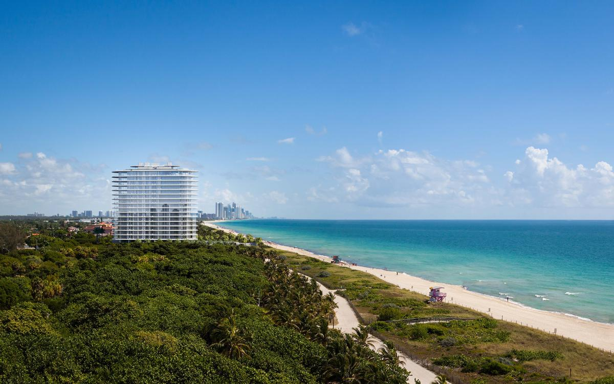 A 35-acre public park, which will also complete the Miami Beach boardwalk, will accompany Eighty-Seven Park