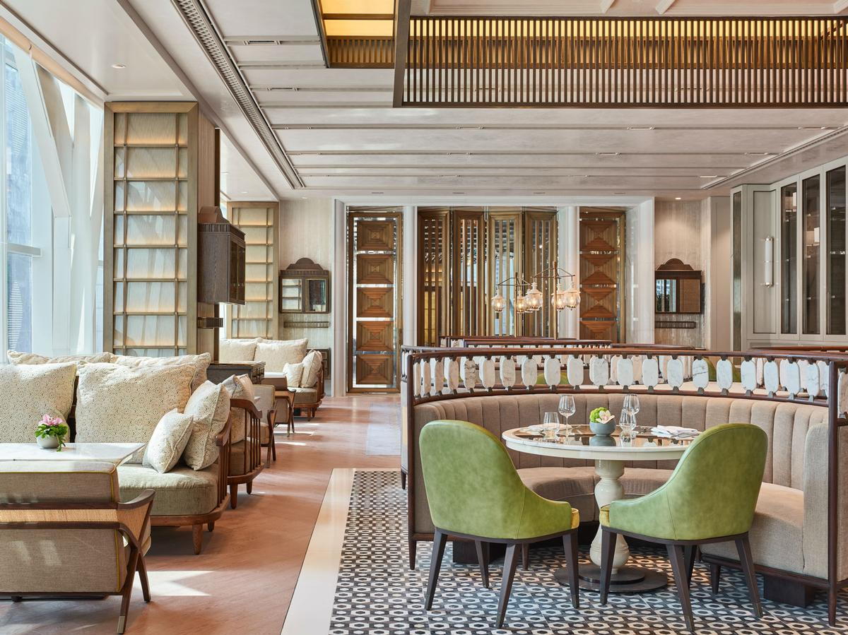 "The Lounge at Four Seasons is a ""lavish veranda-style"" space"