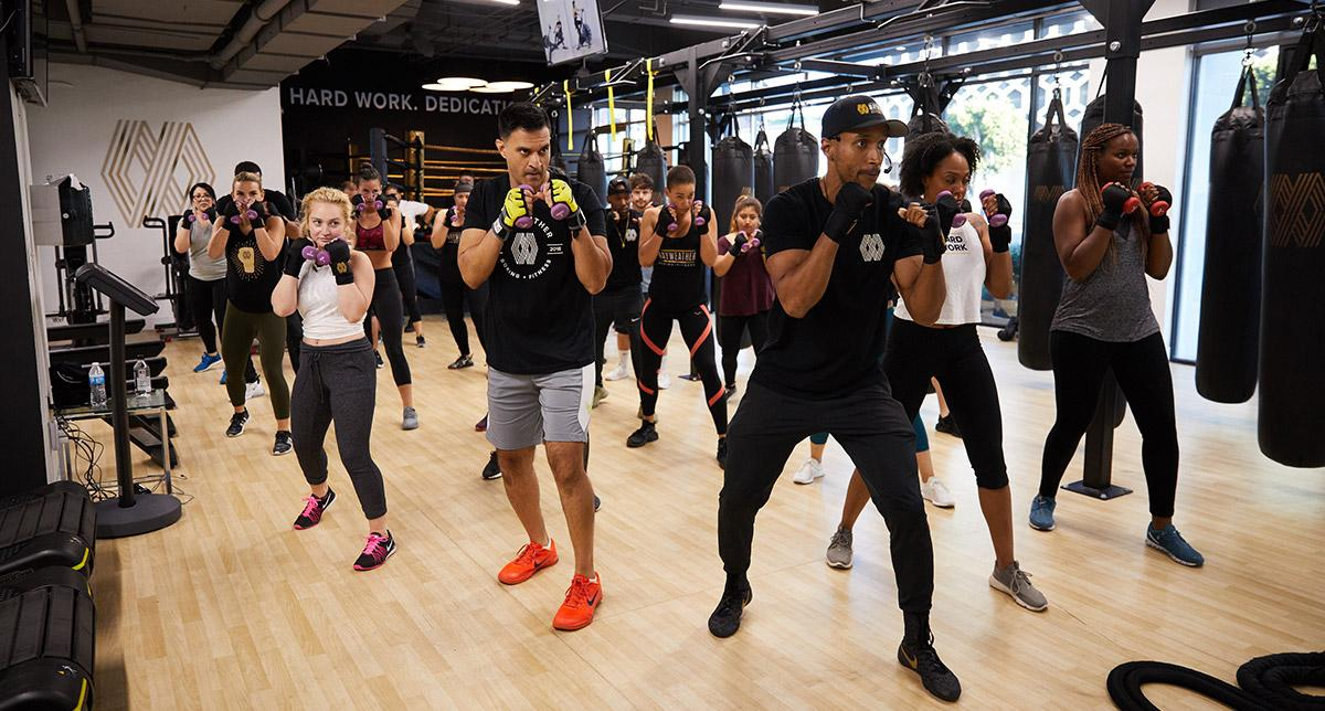 Each Mayweather Boxing + Fitness studio will offer class-based boxing and functional training workouts for all levels of fitness
