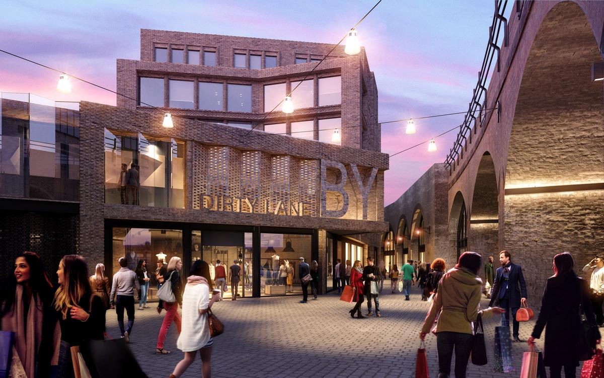 Construction work has now begun on the £300m (US$393m, €336m) renovation of Borough Yards in London