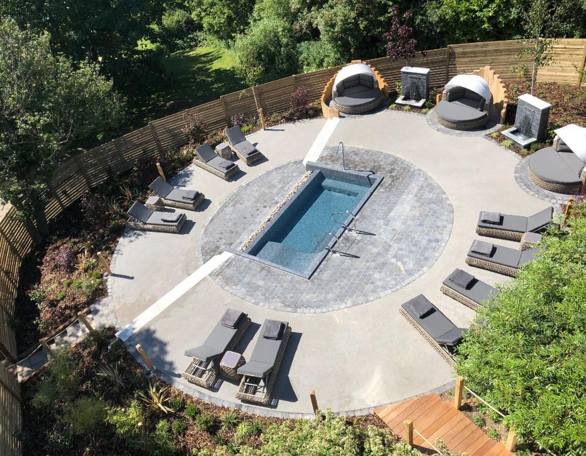 The Zen Garden is part of a £3m refurbishment programme undertaken since 2012