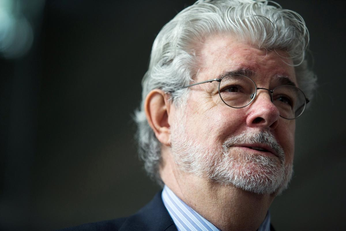 Star Wars and Indiana Jones creator, George Lucas selected Chicago to be the museum's home in November 2014 / Bloomberg via Getty Images
