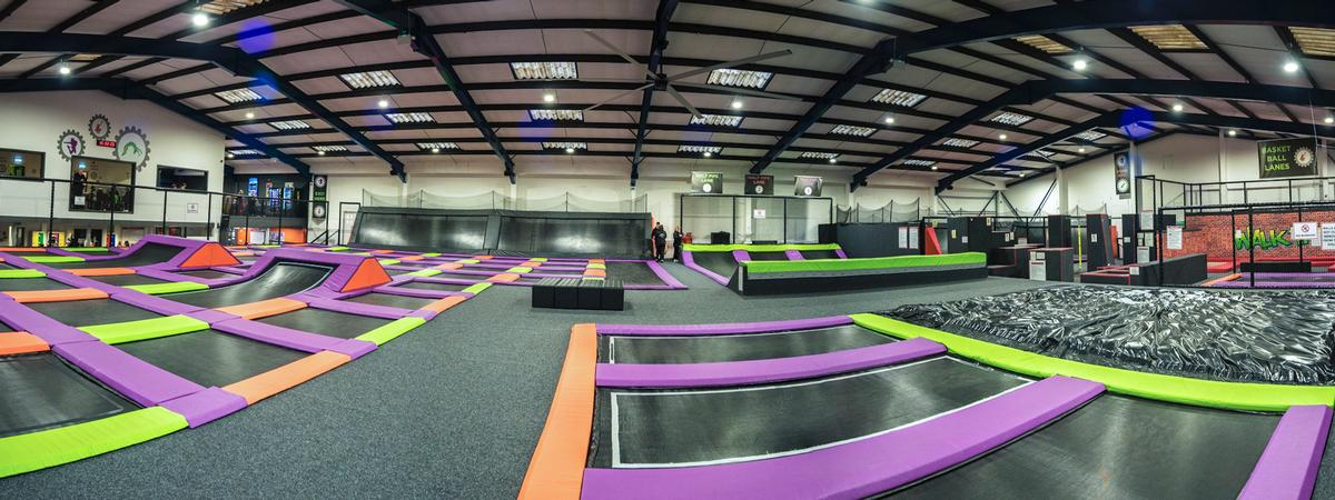Active Nation has rebranded the former Jump Factory site as Atmosphere