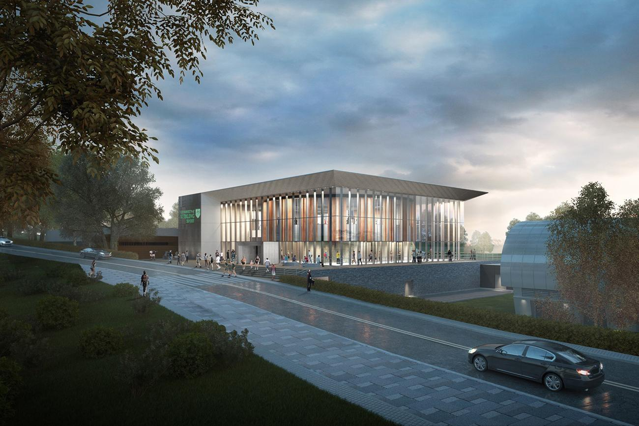 The centre is spread across three levels and will integrate with existing sports facilities – including a swimming centre and tennis academy / FaulknerBrowns