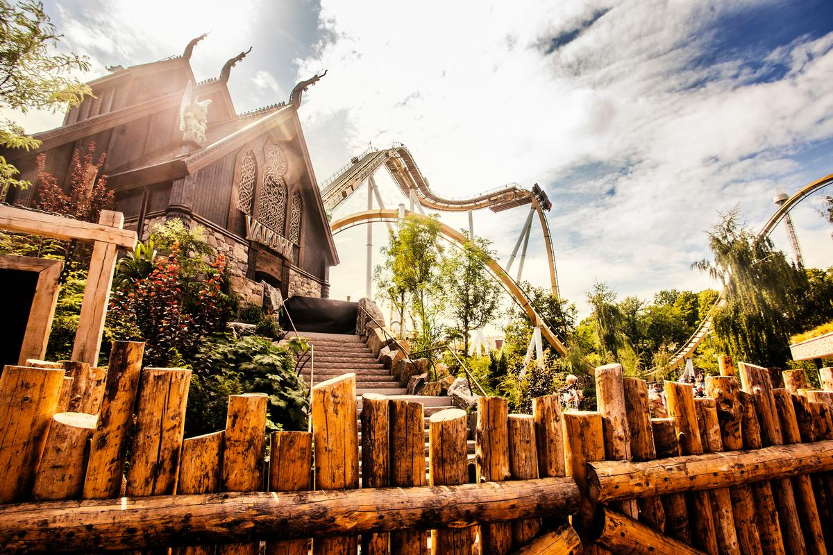 Valkyria is based on Norse Mythology and is a key part of the park's long-term masterplan