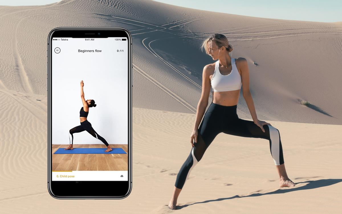 The Nadi X smart leggings are designed to make yoga easier and feature innovative woven-in technology