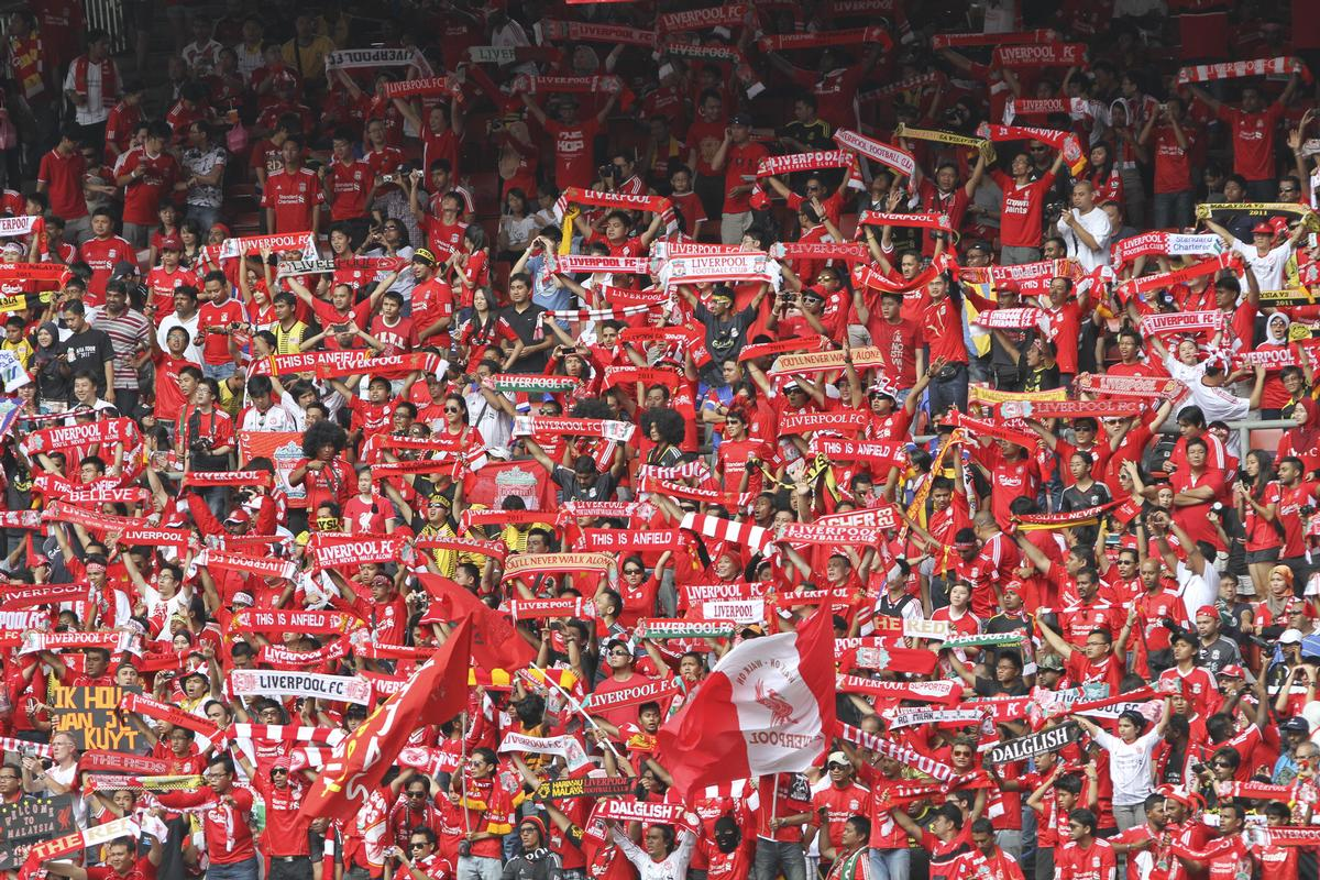 Fans of EPL clubs are considered some of the most passionate in the world / Shutterstock