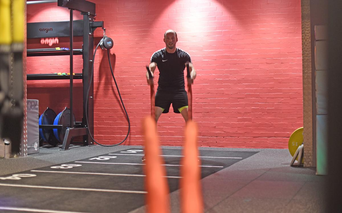 At the heart of the improvements is a new boutique-style functional training space
