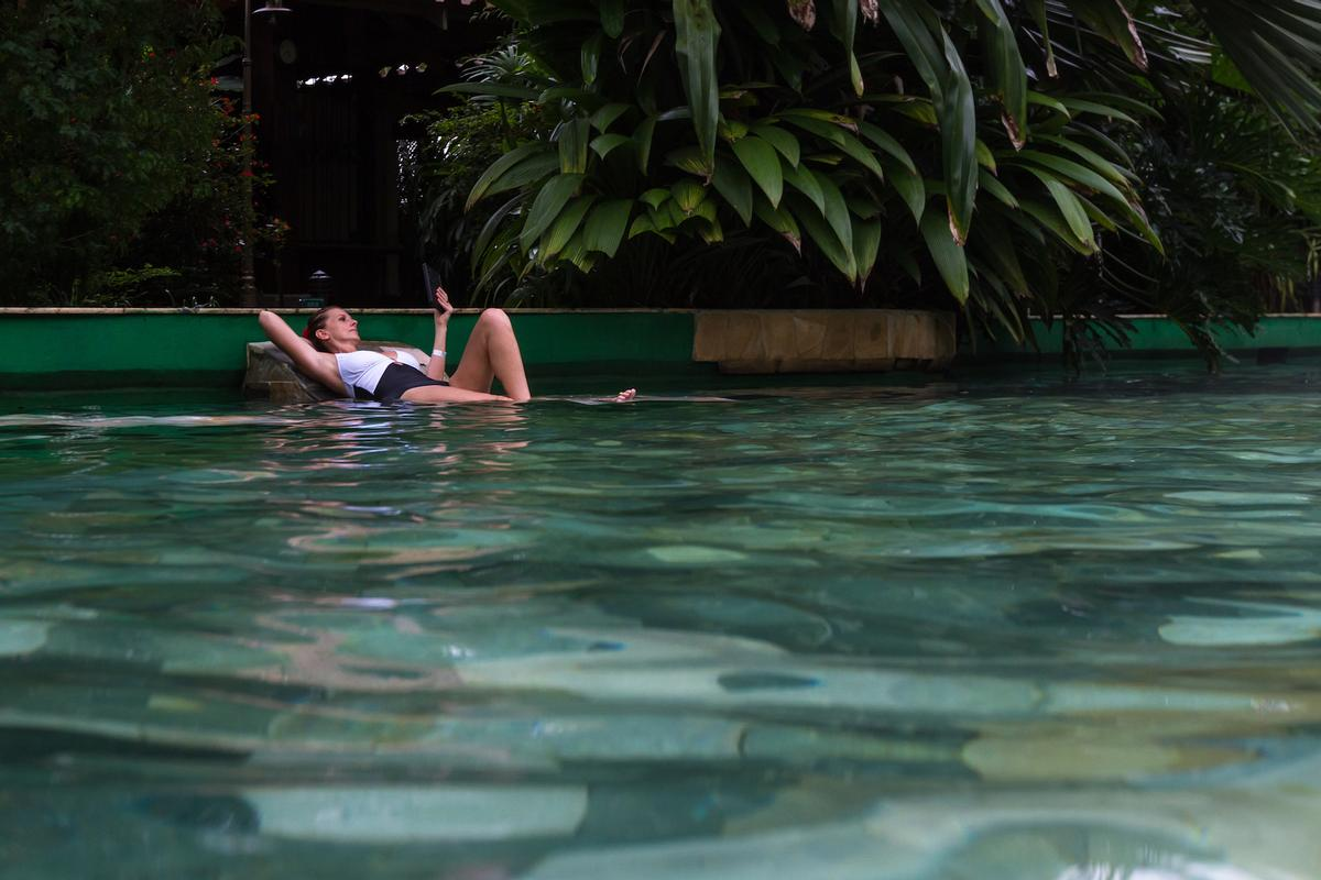 Natural thermal springs like the ones in La Fortuna – where the conference will take place – help make Cost Rica a location for wellness tourism / Shutterstock/Wollertz