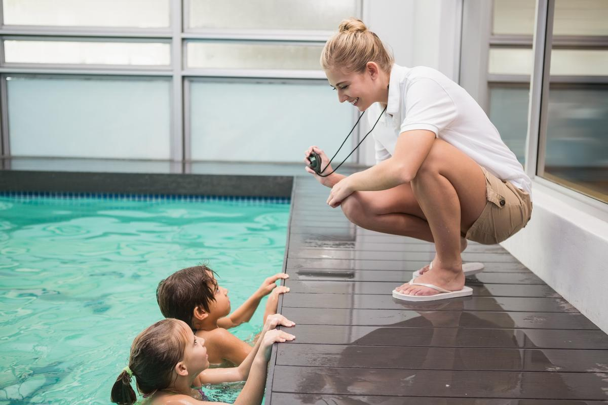 The study shows 68 per cent of swim schools have been impacted by the shortage, limiting their opportunities to offer lessons to children / Shutterstock