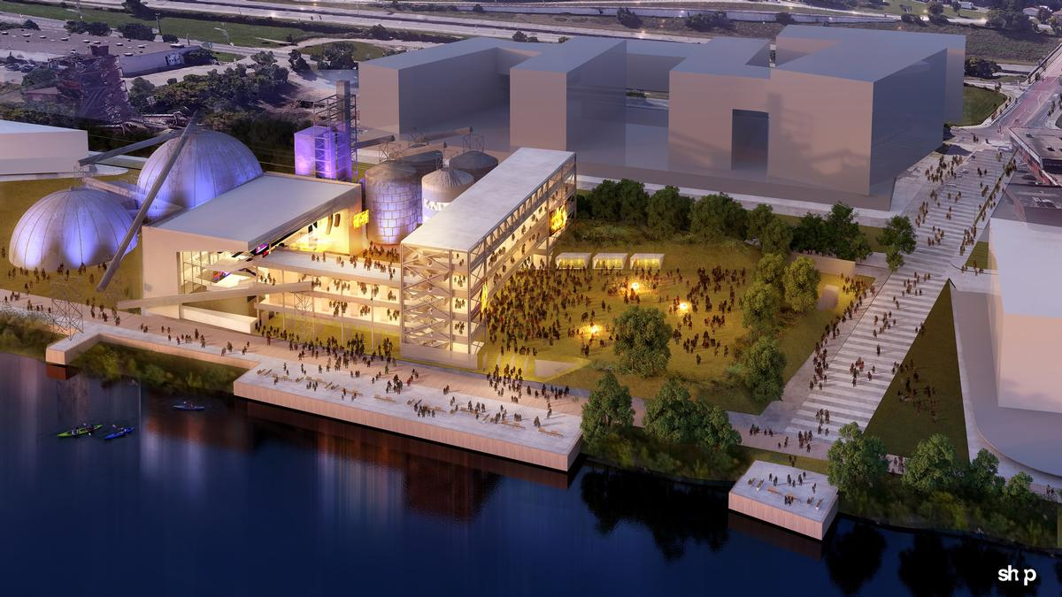 New York-based SHoP Architects have been chosen by First Avenue Productions the CPAC on the Mississippi River waterfront in Minneapolis