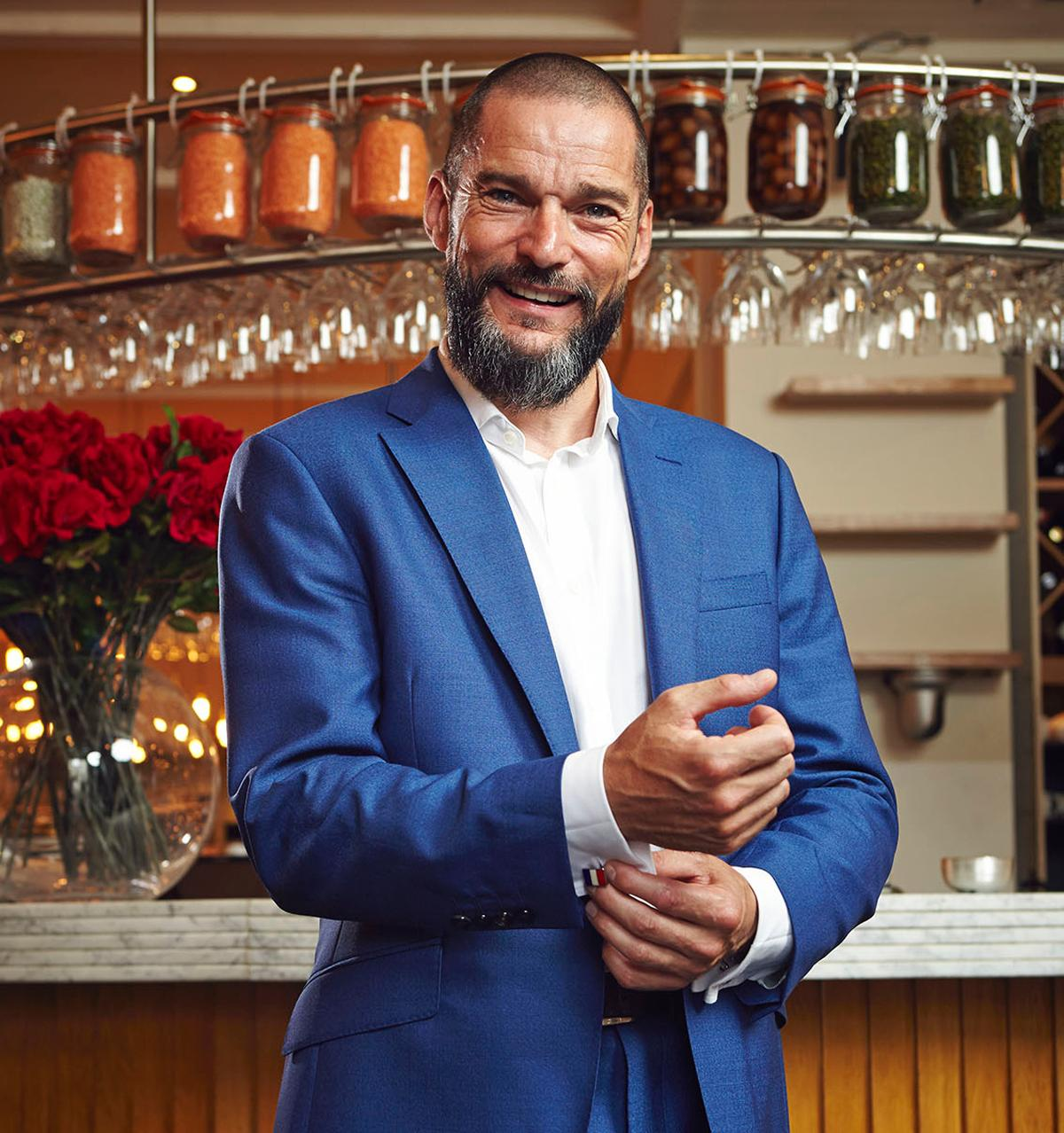Celebrity Maitre D Fred Sirieix has helped promote the My Hospitality World campaign