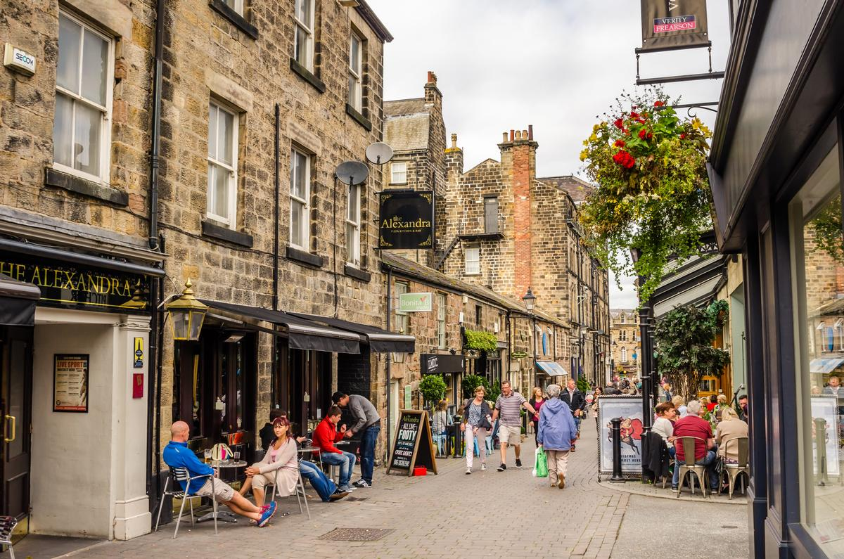 Next year's flagship tourism event will be held in the spa town of Harrogate / Shutterstock