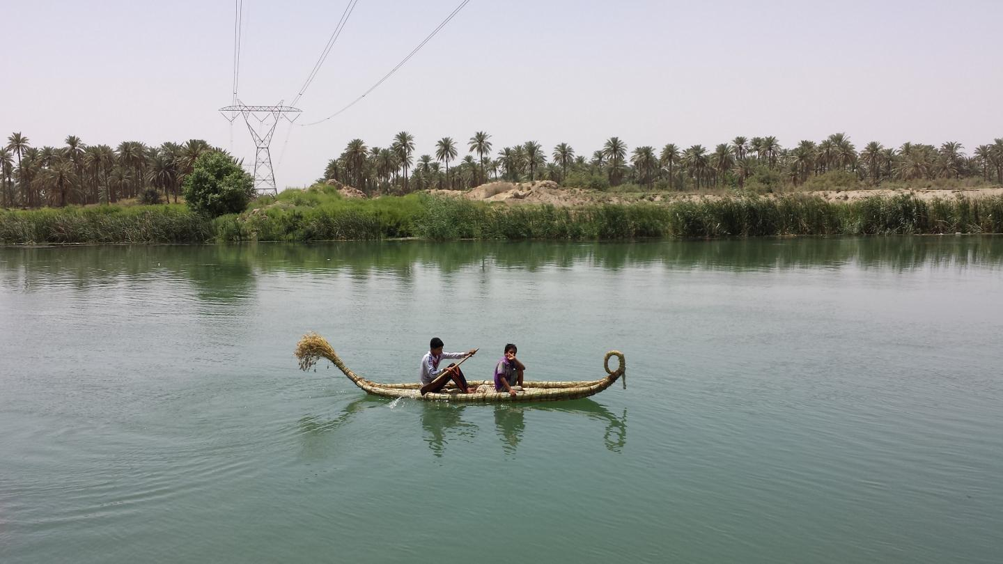 Ark for Iraq has been granted £99,246 for the endangered watercraft heritage of the country / Rashad Salim/British Council