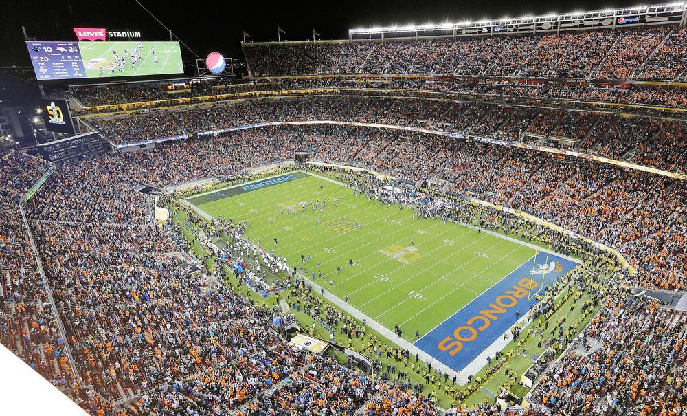 Levi Stadium, Santa Clara, California: The LEED Gold-certified stadium hosted the 2016 Super Bowl