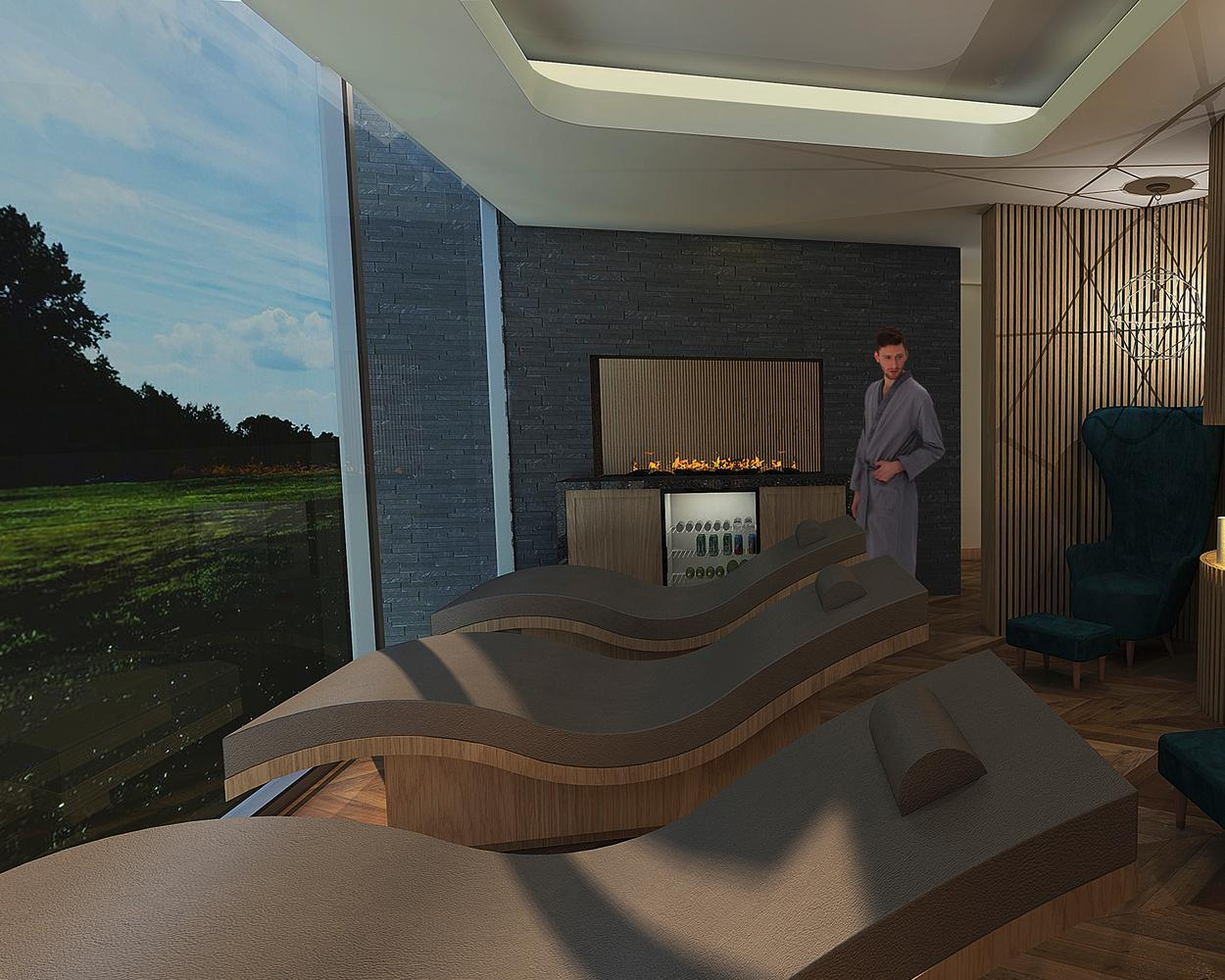 The spa is being created by spa consultant Nicki Kurran, alongside HB Architects, Pave Always Ltd Building Contractors, Barr & Wray Interior Desig