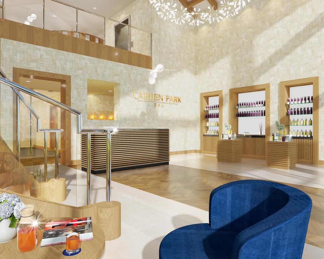 Carden Park Spa is expected to open next summer